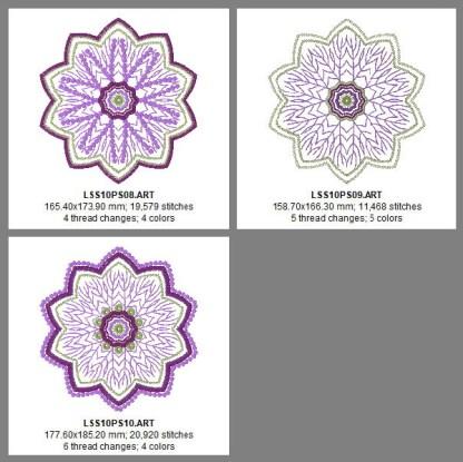 Ten-Point Star Design Details, Page 3
