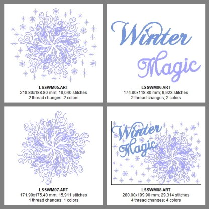 Winter Magic Design Details, Page 2