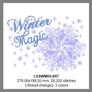 Winter Magic Design Details, Page 1