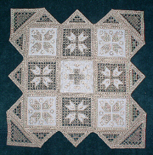 Hardanger Squared Sampler Table Cover