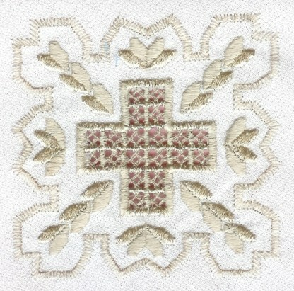 Hardanger Squared Design No. 3
