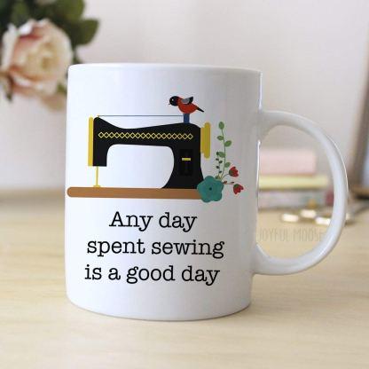 fabric artist housewares coffee mug