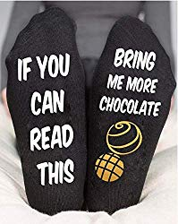 Bring Me Chocolate Socks