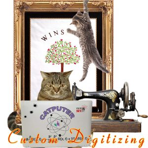 Custom Digitizing Services - When you need a helping hand.