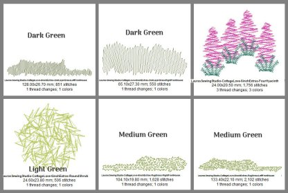Cottage Love 6-Inch Elements Design Details, Page 1