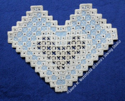 Hardanger, IN the Hoop,, ITH, Machine Embroidery, Lace, Wing Needle, Free-Standing Applique, 5x7, Applique, Cutwork, Purse pattern, Pattern