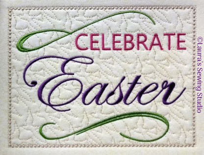 Celebrate Easter - Salutations Top