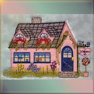 Cottage Shoppe 6x9 Applique Machine Embroidery Project