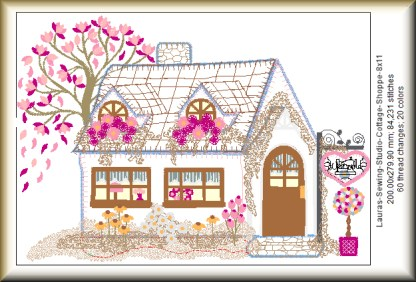 Cottage Shoppe 8x11 Design Details