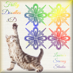 Frilly Doodles Free Embroidery Design