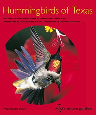 Hummingbirds of Texas: with Their New Mexico and Arizona Ranges by Clifford E. Shackleford, et. al.