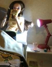 Harry Potter Laura bedside