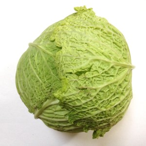 Let's pretend this cabbage is the form of a piece of music.