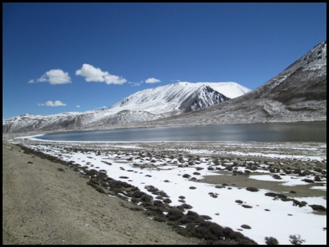 The glacial lakes of the higher Pamirs