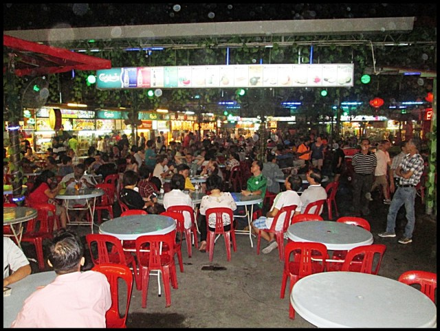 Penang is renowned for its hawker centres