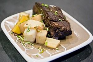 Mini elk pot roasts
