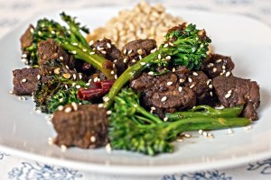 Spicy Elk and Broccoli