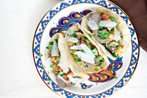 Spanish taco tapas