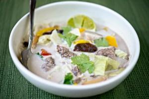 venison recipes tom kha kwang