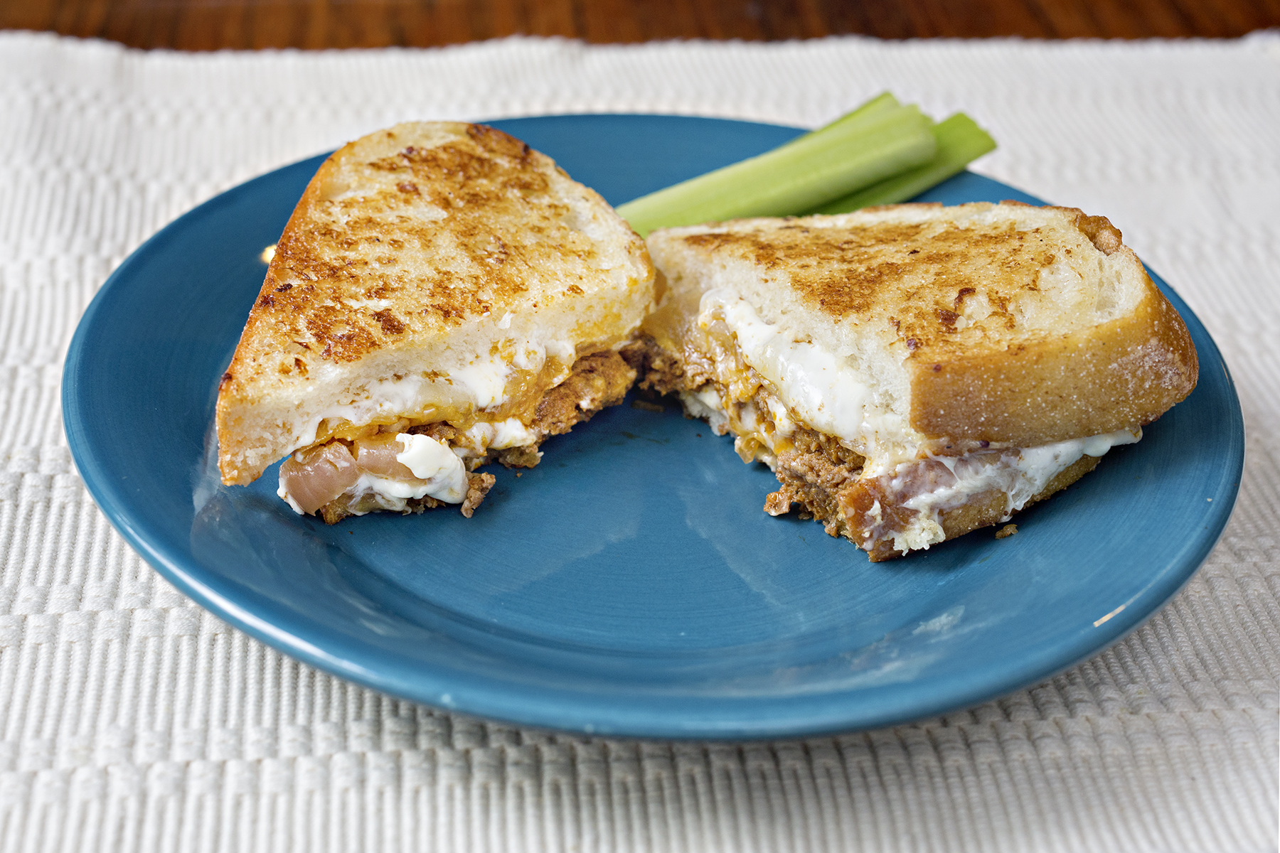 Wild game sausage recipes: Ultimate grilled cheese!Laura\'s Wild Kitchen