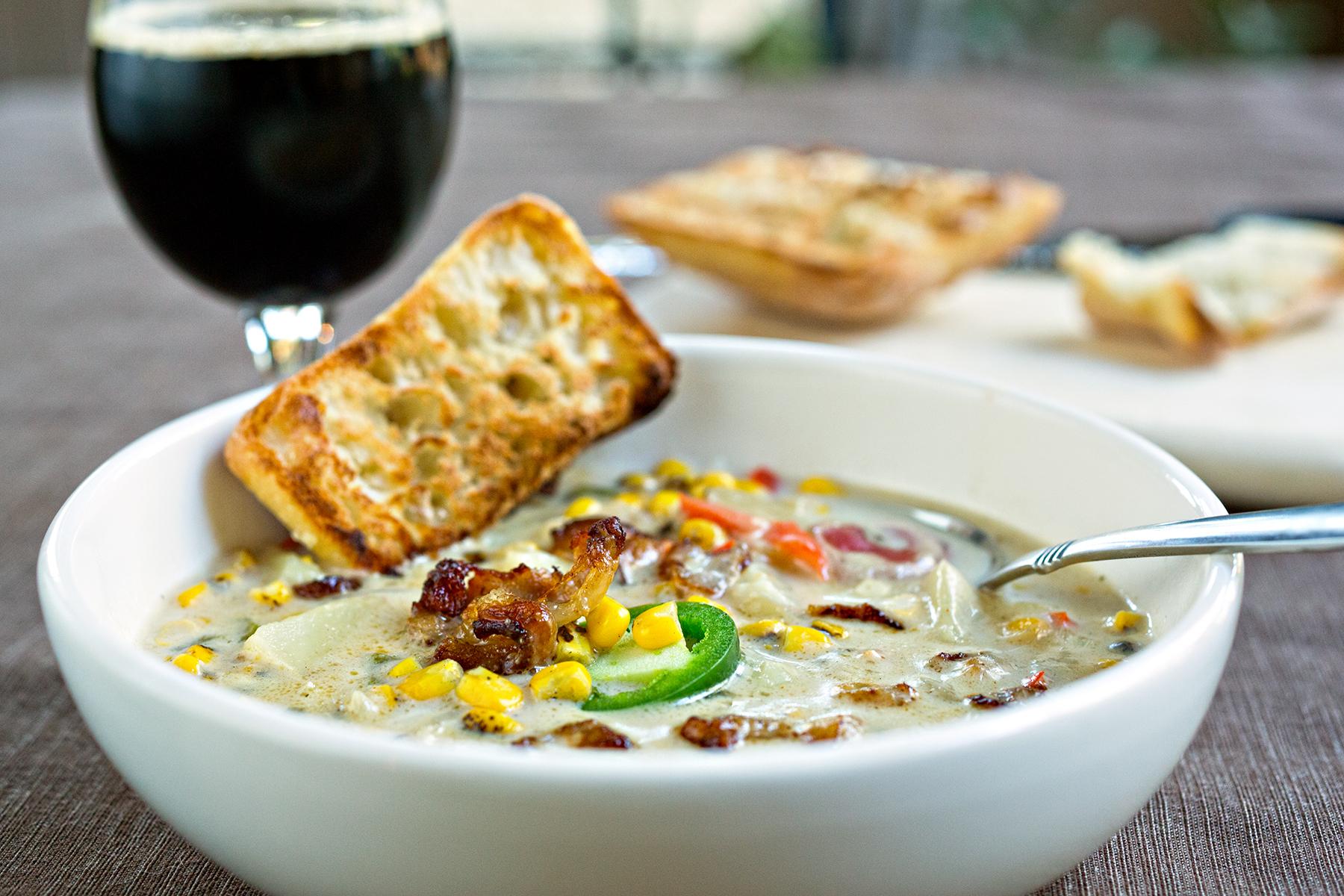 corn chowder recipe