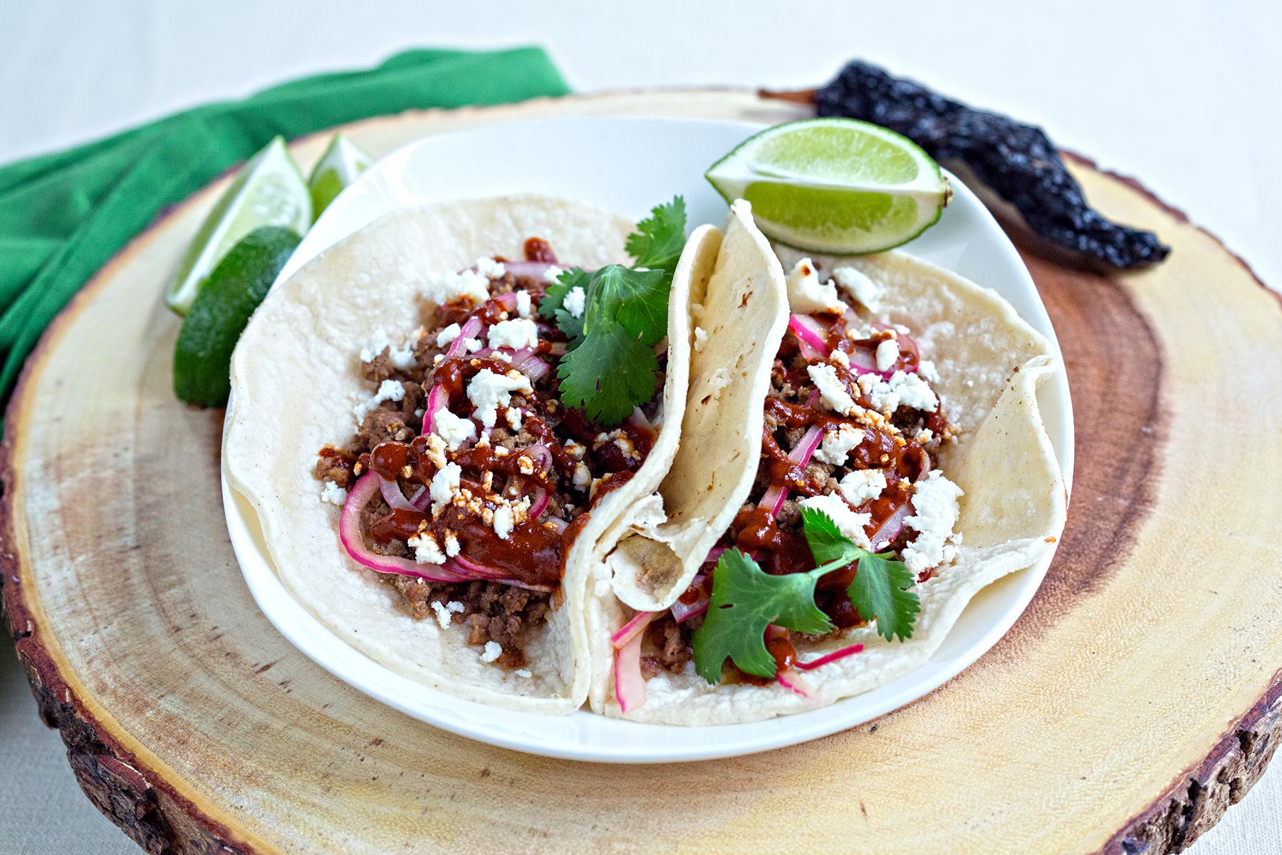 wild hog tacos