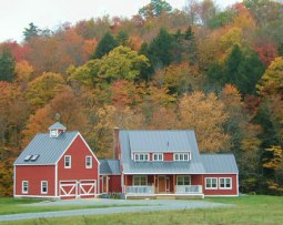 Red Farmhouse