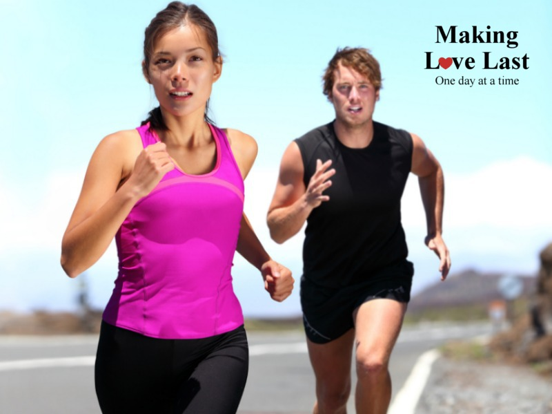 Marriage is a Marathon!