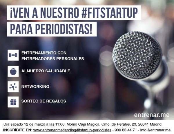 Evento FitStartup de Entrenar.me