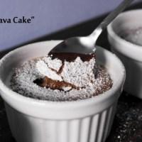 Faimoasa lava cake. Varianta cu Nutella
