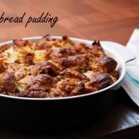 Rețeta pentru croissant bread pudding (or budincă de croissante)
