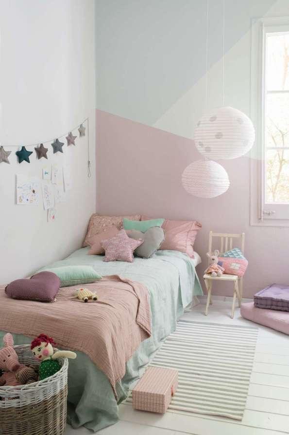 Habitación infantil pintada con línea Nordik de Candence Tintanlux | Fuente: Titanlux