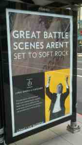 photo of classical music advertisement for epic music and great battle scenes