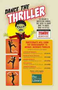 learn to dance Thriller at Indianapolis libraries