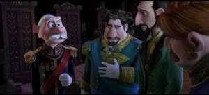 courtiers from FROZEN