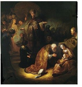 Rembrandt, Adoration of the Magi