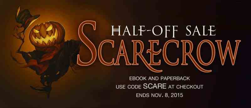 half-off SCARECROW paperbacks or ebook