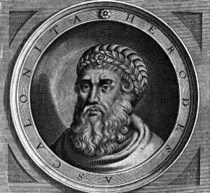 etching of Herod the Great
