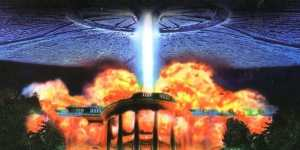 aliens explode the White House in the film Independence Day