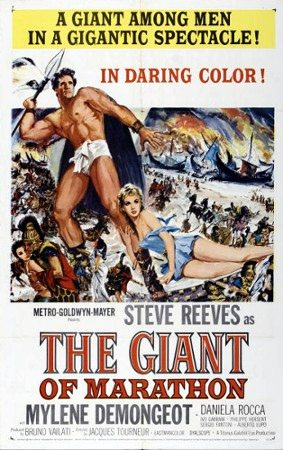 poster for The Giant of Marathon, 1959
