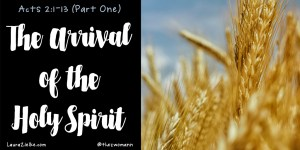 Arrival of the Holy Spirit