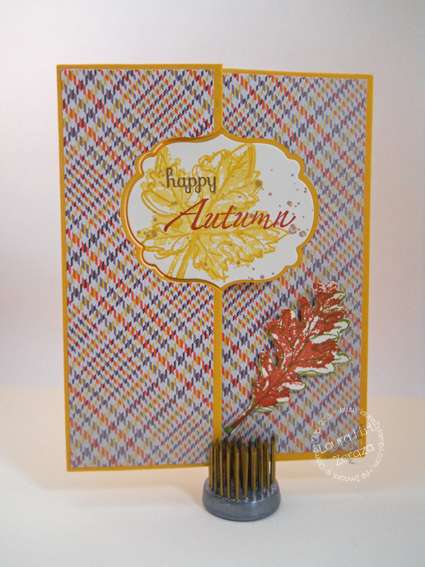 Happy Autumn Greeting Card
