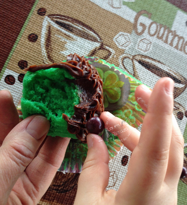 Green-Cupcakes