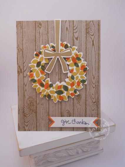 Autumn Wreath-Loving the Fall season.