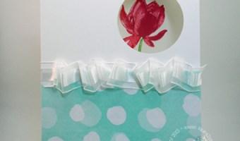 Lotus Blossom- 2 Step stamping