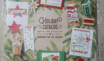 The New Stampin' Up! Holiday Catalog is up and running