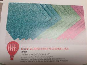 SAB Glimmer Paper