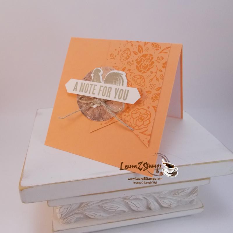 Wood Words stamp set 3 x 3 cards