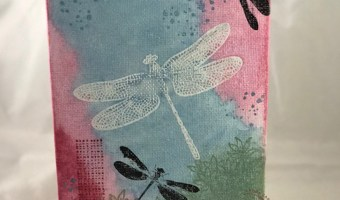 Stamping on Canvas Panels