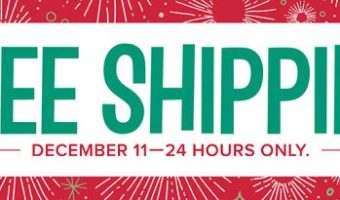 Free Shipping All Day December 11th